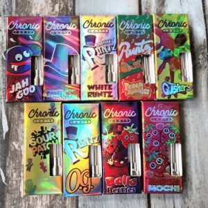 Chronic Carts packaging
