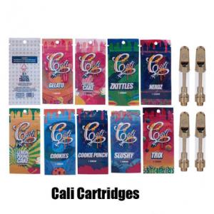 cali plug empty vape cartridges with carts packaging mylar bags cali plug