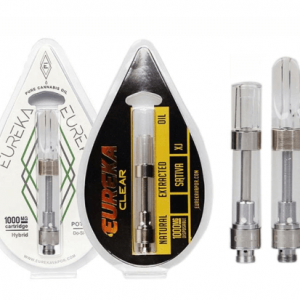 eureka empty vape cartridges with carts packaging of blister packaging