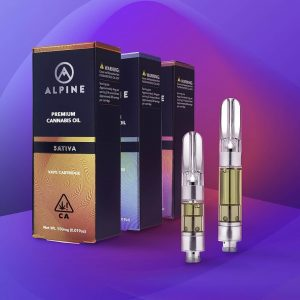 alpine cartridges empty with carts packaging