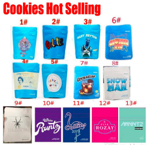 cookies bags white runty Pink ROZAY Gelatti Cereal Milk Gary Payton CHEETAH PISS COOKIES California SF 8th 3.5g Cookies Zipper Smell Proof Bags