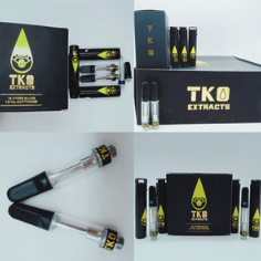 tko cartridges empty with carts packaging