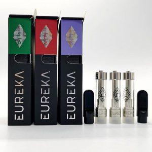 eureka carts with new packaging 0.8ml 1.0ml vape cartridge wholesale fake